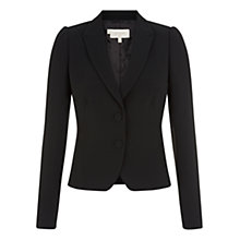 Buy Hobbs Karolina Jacket, Black Online at johnlewis.com