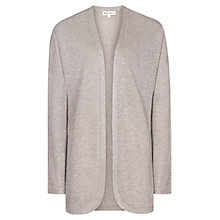 Buy Reiss Coral Knitted Glitter Shrug, Silver Cloud Online at johnlewis.com
