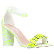 Buy Miss KG Paige Embellished Heeled Sandals, Lime Online at johnlewis.com