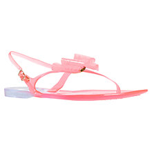 Buy Miss KG Darla Bow Detail Jelly Sandals, Pink Online at johnlewis.com