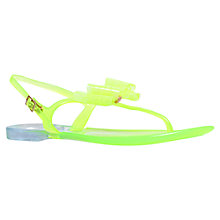 Buy Miss KG Darla Bow Detail Jelly Sandals, Lime Online at johnlewis.com