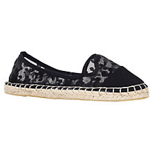 Buy Miss KG Destiny Flat Espadrilles, Black Online at johnlewis.com