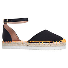 Buy Miss KG Dominique Espadrille Sandals, Black Online at johnlewis.com
