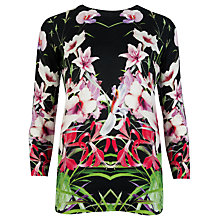Buy Ted Baker Mirrored Tropics Cotton Jumper, Multi Online at johnlewis.com