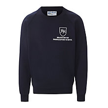 Buy Heath House Preparatory School Sweatshirt, Navy Online at johnlewis.com