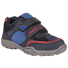 Buy John Lewis Jonty Casual Trainers, Navy/Red Online at johnlewis.com