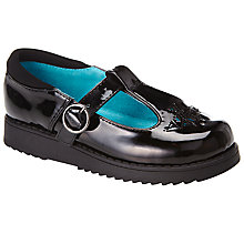 Buy John Lewis Putney Patent Black Shoes, Black Patent Online at johnlewis.com