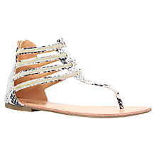 Buy Miss KG Dixie Multi-Strap Sandals, Beige Comb Online at johnlewis.com