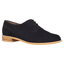 Buy Carvela Little Leather Brogues, Black Online at johnlewis.com