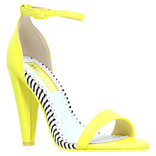 Buy Miss KG Francene Heeled Sandals, Lime Online at johnlewis.com