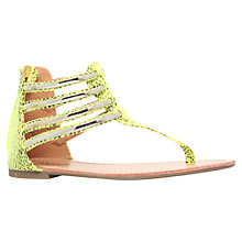 Buy Miss KG Dixie Multi-Strap Sandals, Lime Online at johnlewis.com