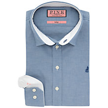 Buy Thomas Pink Calderon Plain Casual Slim Fit Shirt, Blue Online at johnlewis.com
