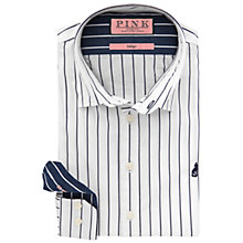 Buy Thomas Pink Cooper Stripe Slim Fit Shirt Online at johnlewis.com