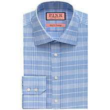 Buy Thomas Pink Turner Textured Slim Fit Shirt, Pale Blue/White Online at johnlewis.com