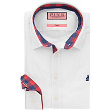Buy Thomas Pink Bekinsdale Plain Shirt, White Online at johnlewis.com