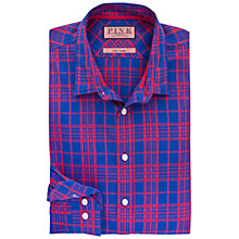 Buy Thomas Pink Harris Check Slim Fit Shirt, Purple/Red Online at johnlewis.com