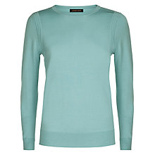 Buy Jaeger Gostwyck Crew Neck Jumper, Aquifer Online at johnlewis.com