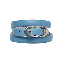 Buy White Stuff Cross Keeper Belt, Bright Aqua Online at johnlewis.com