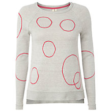 Buy White Stuff Tow Path Jumper, Dew Grey Online at johnlewis.com
