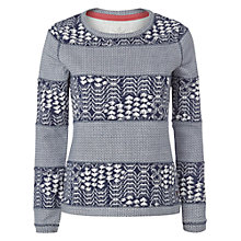 Buy White Stuff Agnes Crew Neck Jumper, Navy Online at johnlewis.com