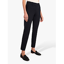Buy Jigsaw Paris Slim Fit Tapered Trousers, Navy Online at johnlewis.com