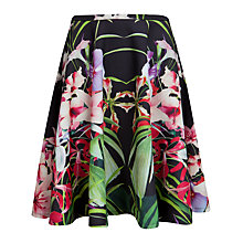 Buy Ted Baker Mirrored Tropics Full Skirt, Multi Online at johnlewis.com