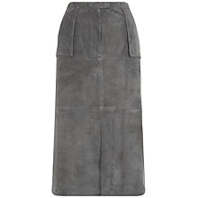 Buy Jaeger Suede A Line Skirt, Eiffel Tower Online at johnlewis.com