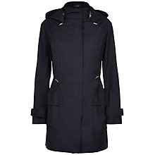Buy Jaeger Hooded Parka, Midnight Online at johnlewis.com