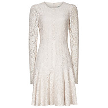 Buy Reiss Rosalin Lace Frill Dress, Monroe Online at johnlewis.com