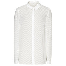 Buy Reiss Kumi Textured Shirt, Off White Online at johnlewis.com
