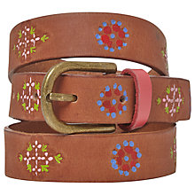 Buy White Stuff Longboat Belt, Tan Online at johnlewis.com