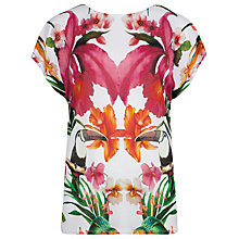 Buy Ted Baker Tropical Toucan T-shirt, Multi Online at johnlewis.com