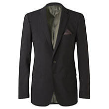 Buy Jigsaw Fine Stretch Wool Suit Jacket, Navy Online at johnlewis.com