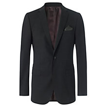 Buy Jigsaw Fine Stretch Wool Suit Jacket, Charcoal Online at johnlewis.com