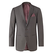 Buy Jigsaw Mohair Bloomsbury Fit Tailored Suit Jacket, Charcoal Online at johnlewis.com