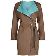 Buy Jaeger Double Faced Waterfall Coat Online at johnlewis.com