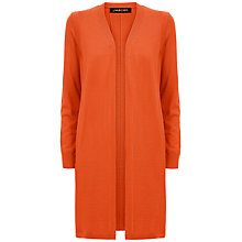 Buy Jaeger Gostwyck Long-Line Cardigan, Paprika Online at johnlewis.com