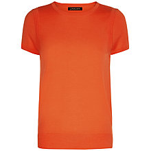 Buy Jaeger Gostwyck Wool Top, Paprika Online at johnlewis.com