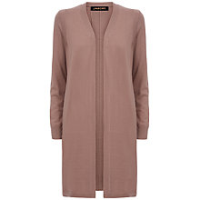 Buy Jaeger Gostwyck Wool Cardigan, Ginger Snap Online at johnlewis.com