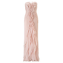 Buy Adrianna Papell Wedding Front Ruffle Gown Online at johnlewis.com