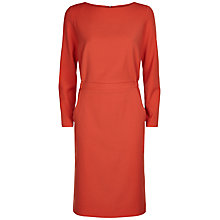 Buy Jaeger Soft Tailoring Dress, Paprika Online at johnlewis.com