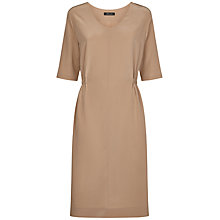 Buy Jaeger Silk Dress, Ginger Snap Online at johnlewis.com