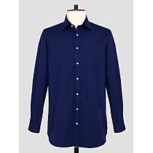 Buy Thomas Pink Fraser XL Sleeve Plain Shirt, Navy Online at johnlewis.com