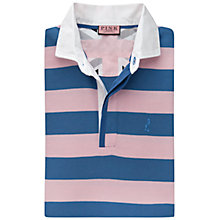 Buy Thomas Pink Randle Stripe Rugby Shirt, Pink/Blue Online at johnlewis.com