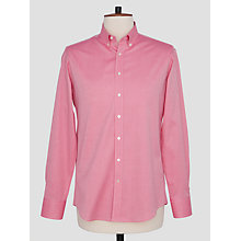 Buy Thomas Pink Goldsmith Textured Slim Fit Shirt, Red Online at johnlewis.com