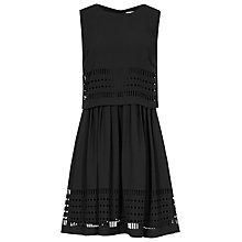 Buy Reiss Lucia Laser Cut Dress Online at johnlewis.com