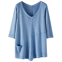 Buy Poetry Hemp Cotton Jersey Tunic Top Online at johnlewis.com