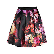 Buy Ted Baker Cascading Floral Full Skirt, Multi Online at johnlewis.com