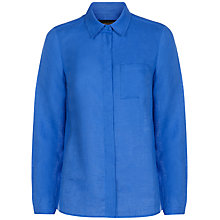 Buy Jaeger Regatta Casual Linen Shirt, Regatta Online at johnlewis.com