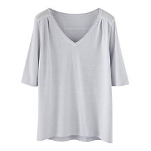 Buy Poetry Hemp Cotton Jersey Top Online at johnlewis.com